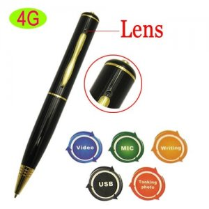 4GB Mini Spy Camera USB Pen + Audio / Video Recording